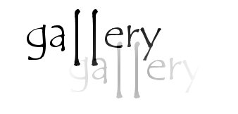 Select a gallery at the top of the page