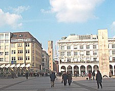 From Rathaus towards TV Tower - 27 Feb 2004